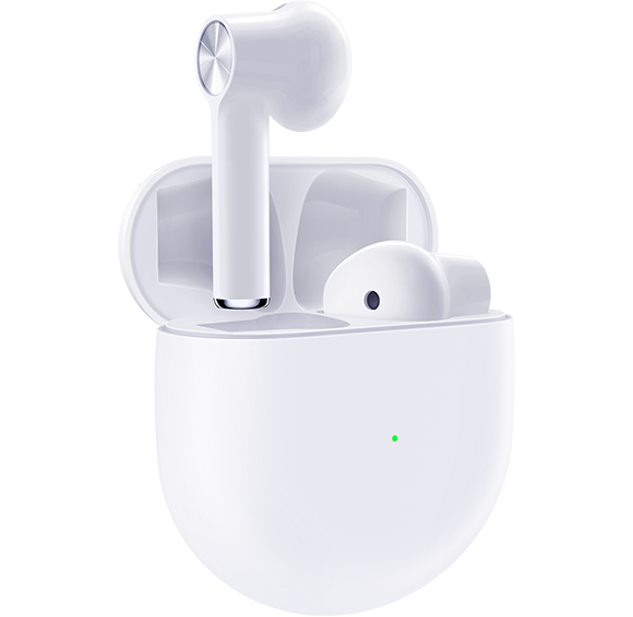 OnePlus Buds in White with Case