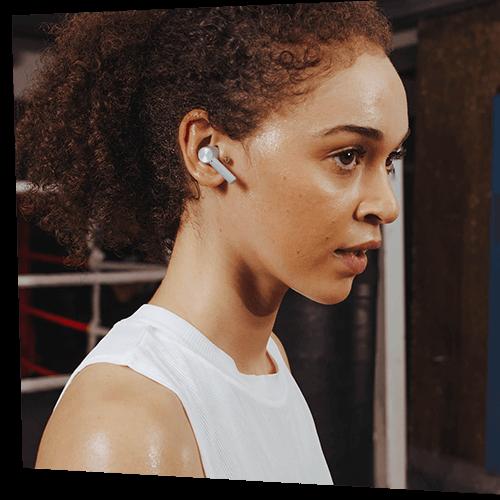 OnePlus Buds Z Female Model Demo