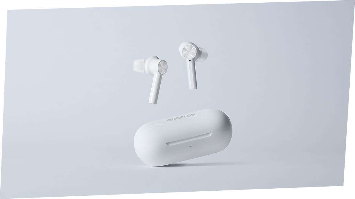 OnePlus Buds Z White Color with Case